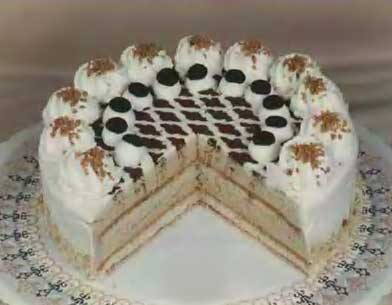 Irish Coffe Sahnetorte